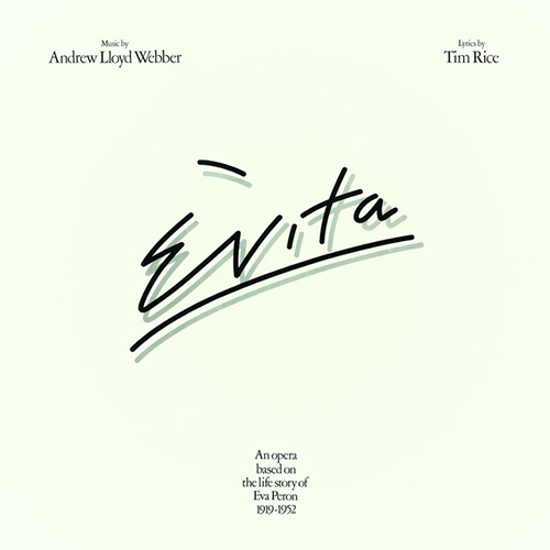 Andrew Lloyd Webber She Is A Diamond (from Evita) pictures