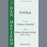 Download Andy Marshall Invictus Sheet Music arranged for SATB Choir - printable PDF music score including 5 page(s)