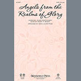 Download or print Angels From The Realms Of Glory Sheet Music Notes by Anna Laura Page for Percussion