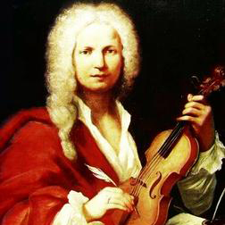 Download or print Concerto in D major for 2 Violins and Lute (1st Movement) Sheet Music Notes by Antonio Vivaldi for Piano