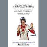Download Aretha Franklin (You Make Me Feel Like) A Natural Woman (arr. Jay Dawson) - Alto Sax 1 Sheet Music arranged for Marching Band - printable PDF music score including 1 page(s)