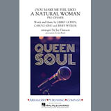 Download Aretha Franklin (You Make Me Feel Like) A Natural Woman (Pre-Opener) (arr. Jay Dawson) - Alto Sax 2 Sheet Music arranged for Marching Band - printable PDF music score including 1 page(s)