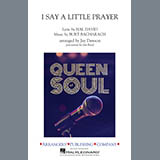Download Aretha Franklin I Say a Little Prayer (arr. Jay Dawson) - Bb Horn Sheet Music arranged for Marching Band - printable PDF music score including 1 page(s)