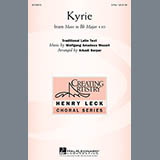 Download Arkadi Serper Kyrie (From The Mass In B-Flat Major #10) Sheet Music arranged for 3-Part Treble - printable PDF music score including 6 page(s)