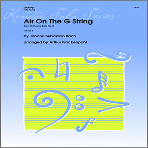 Arthur Frackenpohl Air On The G String (from Orchestral Suite No. 3) - Piano pictures