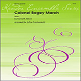 Download or print Colonel Bogey March - 1st Bb Trumpet Sheet Music Notes by Arthur Frackenpohl for Brass Ensemble
