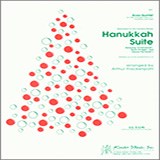 Download or print Hanukkah Suite - 1st Bb Trumpet Sheet Music Notes by Arthur Frackenpohl for Brass Ensemble