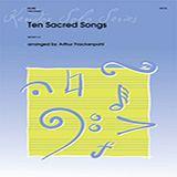 Download or print Ten Sacred Songs - Piano Accompaniment Sheet Music Notes by Arthur Frackenpohl for Woodwind Solo