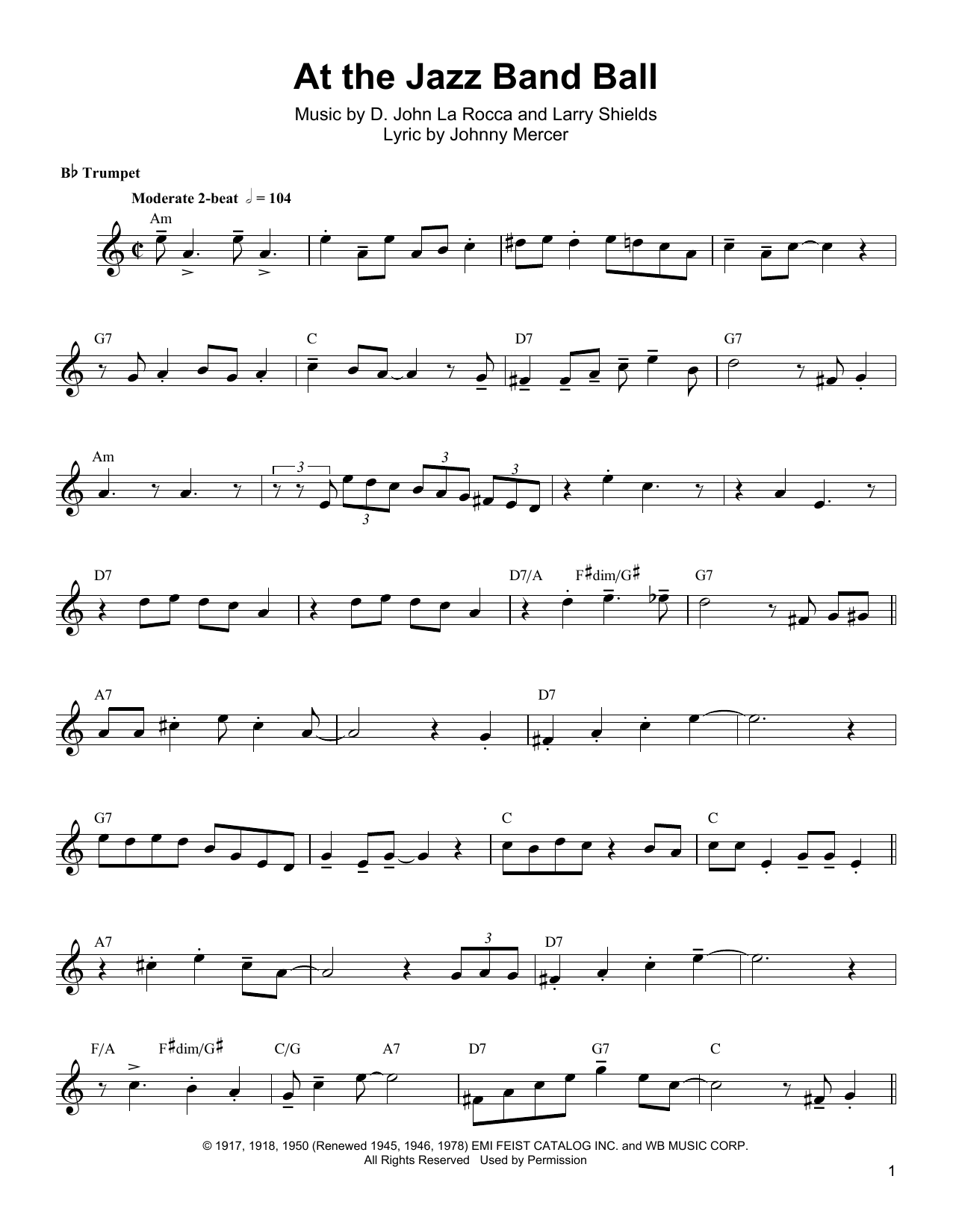 Download Arturo Sandoval 'At The Jazz Band Ball' Digital Sheet Music Notes & Chords and start playing in minutes