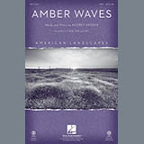 Download or print Amber Waves - Full Score Sheet Music Notes by Audrey Snyder for Choir Instrumental Pak