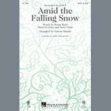 Download or print Amid the Falling Snow - Violin 1 Sheet Music Notes by Audrey Snyder for Choir Instrumental Pak