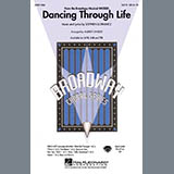 Download or print Dancing Through Life - Violin 1 Sheet Music Notes by Audrey Snyder for Choir Instrumental Pak