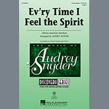 Download African-American Spiritual Every Time I Feel The Spirit (arr. Audrey Snyder) Sheet Music arranged for 3-Part Mixed - printable PDF music score including 2 page(s)