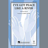Download Traditional I've Got Peace Like A River (arr. Audrey Snyder) Sheet Music arranged for SSA - printable PDF music score including 7 page(s)