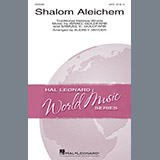 Download Audrey Snyder Shalom Aleichem Sheet Music arranged for SATB Choir - printable PDF music score including 14 page(s)