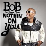 Download B.o.B Nothin' On You (feat. Bruno Mars) Sheet Music arranged for Piano, Vocal & Guitar (Right-Hand Melody) - printable PDF music score including 8 page(s)