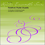 Download or print Festive Flute Duets (10 Grade 4 Christmas Duets) Sheet Music Notes by Balent for Wind Ensemble