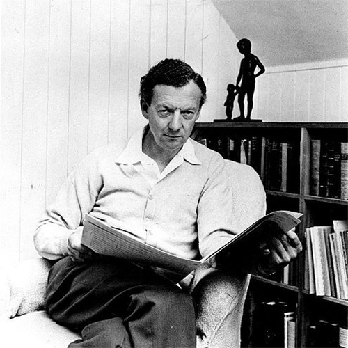 Benjamin Britten On The Brow Of Richmond Hill pictures