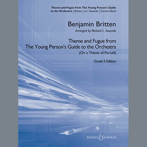 Benjamin Britten Theme and Fugue from The Young Person's Guide to the Orchestra - Conductor Score (Full Score) profile picture