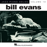 Download or print My Heart Stood Still Sheet Music Notes by Bill Evans for Piano