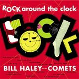 Download Bill Haley & His Comets Rock Around The Clock Sheet Music arranged for Piano, Vocal & Guitar (Right-Hand Melody) - printable PDF music score including 3 page(s)