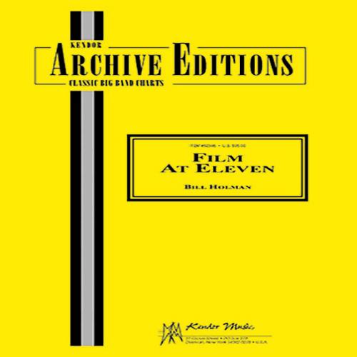 Bill Holman Film At Eleven - 2nd Eb Alto Saxophone profile picture