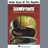Download or print Battle Hymn Of The Republic - Bb Tenor Saxophone Sheet Music Notes by Bill Moffit for Marching Band