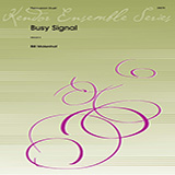 Download or print Busy Signal - Full Score Sheet Music Notes by Bill Molenhof for Percussion Ensemble