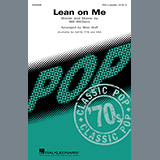 Download Bill Withers Lean On Me (arr. Mac Huff) Sheet Music arranged for TTB Choir - printable PDF music score including 9 page(s)