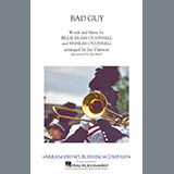 Download or print Bad Guy (arr. Jay Dawson) - Aux. Percussion Sheet Music Notes by Billie Eilish for Marching Band