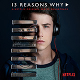 Download or print lovely (from 13 Reasons Why) Sheet Music Notes by Billie Eilish & Khalid for Ukulele