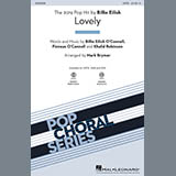 Download or print Lovely (from 13 Reasons Why) (arr. Mark Brymer) - Guitar Sheet Music Notes by Billie Eilish & Khalid for Choir Instrumental Pak