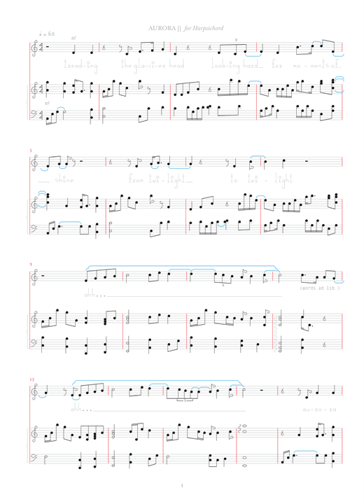 Download Bjork 'Aurora' Digital Sheet Music Notes & Chords and start playing in minutes