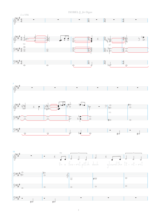 Download Bjork 'Isobel' Digital Sheet Music Notes & Chords and start playing in minutes