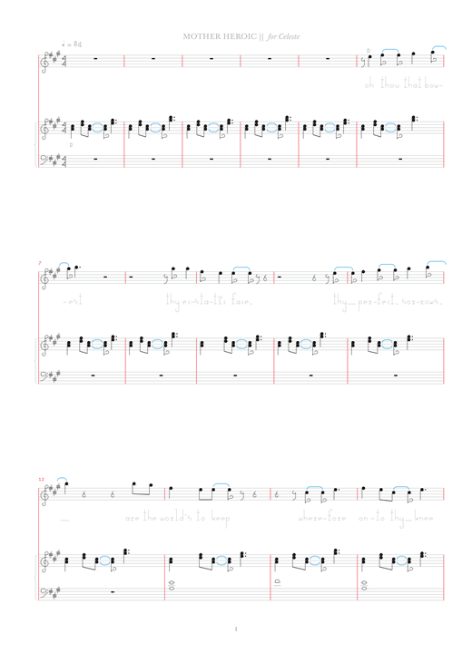 Download Bjork 'Mother Heroic' Digital Sheet Music Notes & Chords and start playing in minutes