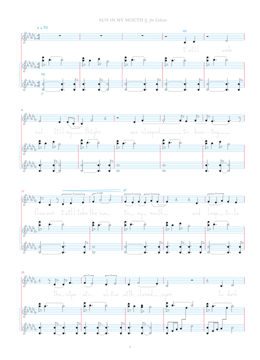 Download Bjork 'Sun In My Mouth' Digital Sheet Music Notes & Chords and start playing in minutes