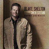 Download Blake Shelton Happy Anywhere (feat. Gwen Stefani) Sheet Music arranged for Easy Guitar Tab - printable PDF music score including 4 page(s)