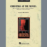 Download or print Christmas At The Movies - Bb Bass Clarinet Sheet Music Notes by Bob Krogstad for Full Orchestra