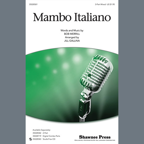 Bob Merrill Mambo Italiano (arr. Jill Gallina) - Trombone pictures