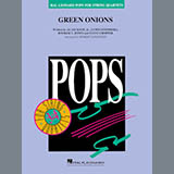 Download Booker T. & The MG's Green Onions (arr. Robert Longfield) - Conductor Score (Full Score) Sheet Music arranged for String Quartet - printable PDF music score including 6 page(s)