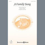 Download Brad Nix A Family Song Sheet Music arranged for Unison Choral - printable PDF music score including 6 page(s)
