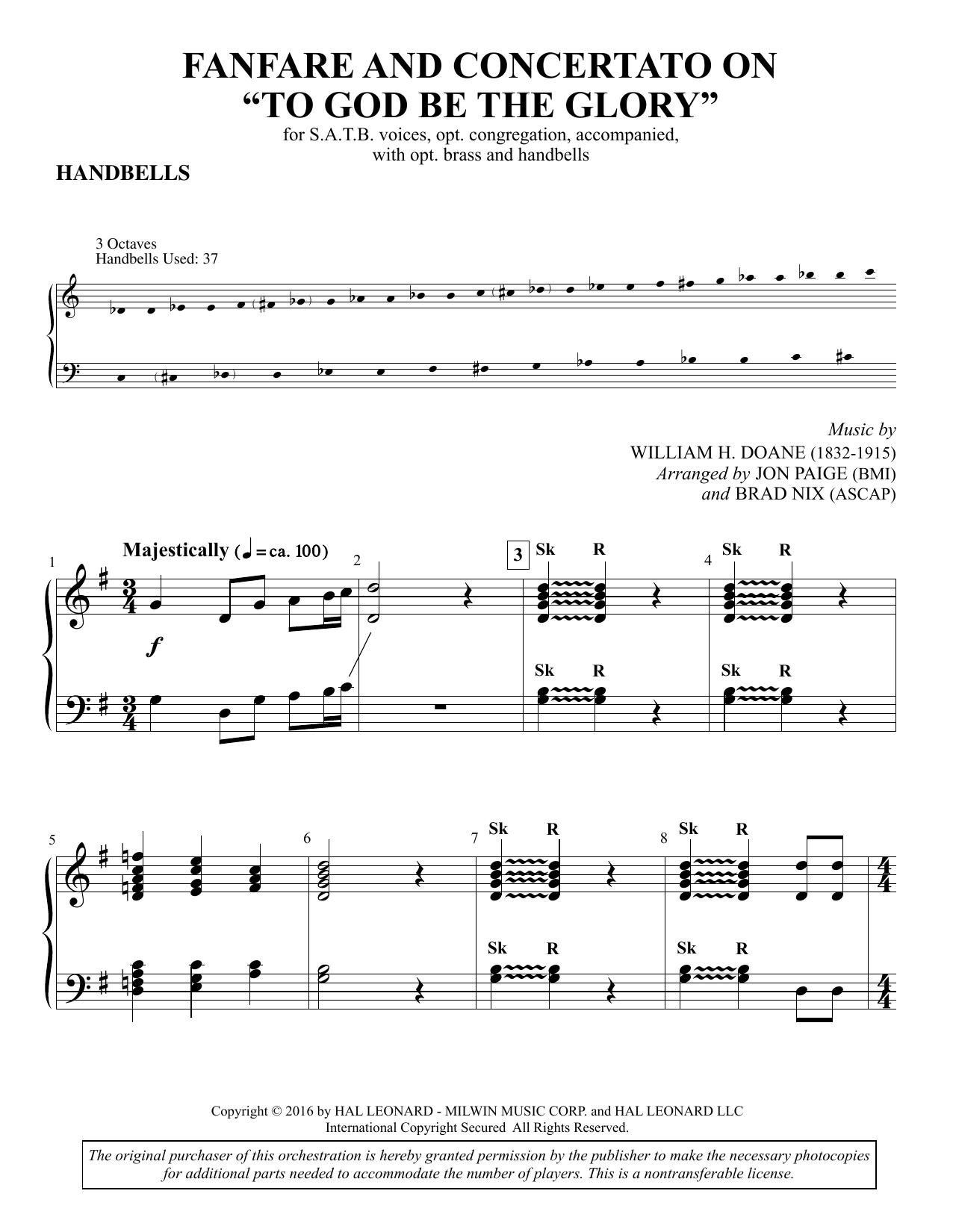 Brad Nix Fanfare and Concertato on