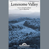 Download Brad Nix Lonesome Valley Sheet Music arranged for Choral - printable PDF music score including 9 page(s)