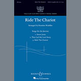 Download Brandon Waddles Ride The Chariot Sheet Music arranged for SATB Choir - printable PDF music score including 12 page(s)
