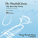 Download or print The Next Big Thing - Eb Baritone Saxophone Sheet Music Notes by Bret Zvacek for Jazz Ensemble