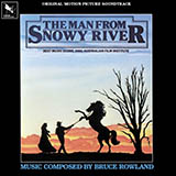 Download or print Jessica's Theme (Breaking In The Colt) (from The Man From Snowy River) Sheet Music Notes by Bruce Rowland for Piano, Vocal & Guitar (Right-Hand Melody)