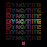 Download BTS Dynamite Sheet Music arranged for Easy Guitar Tab - printable PDF music score including 5 page(s)