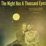 Download or print The Night Has A Thousand Eyes Sheet Music Notes by Buddy Bernier for Real Book - Melody & Chords - Bass Clef Instruments