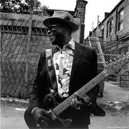 Download or print Hoodoo Man Blues Sheet Music Notes by Buddy Guy for Guitar Tab Play-Along