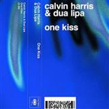 Download Calvin Harris & Dua Lipa One Kiss Sheet Music arranged for Piano, Vocal & Guitar (Right-Hand Melody) - printable PDF music score including 8 page(s)